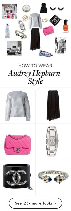 """""""Crazy look"""" by maria-chamourlidou on Polyvore featuring Kenzo, DKNY, Chanel, Forever 21, Chopard, David Yurman, EF Collection, GE, Deborah Lippmann and CB2"""