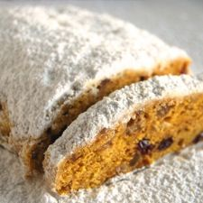 Golden Stollen: King Arthur Flour  (I come from a German background, Stollen is a big part of Christmas...happy to find this recipe! :)