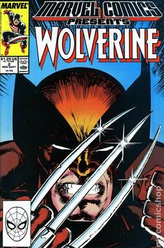 Marvel Comics Presents (1988) 2 Wolverine cover
