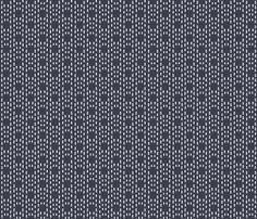 navy blue doodles fabric by allie_olson on Spoonflower - custom fabric
