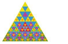 Trendy triangle wallpaper