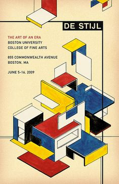 Michael deal  de stijl: the art of an era. The artist used the De Stijl style in…