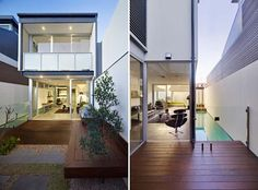 Two Townhouses, Modern House Design by Johannsen and Associates 1