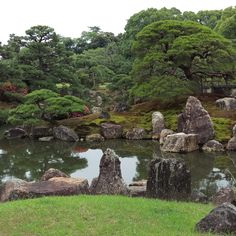 gatden 0Visit the post for more. on my daily life and tagged garden, japan, Japanese garden, kyoto, matchaatnoon, nature, Nijio Castle, Nijo Jo, sunlight, travel, tree