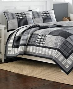 Nautica Blaine Patchwork Quilt | Overstock.com Shopping - The Best ... : chatham quilt by nautica - Adamdwight.com