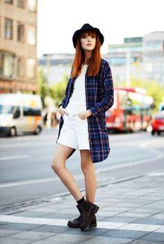 #streetstyle #style #fashion #streetfashion #plaid #flannel #tartan