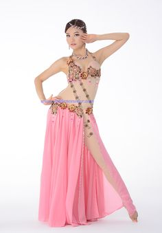 Popular Egyptian Bra Performance Belly Dance Costume With Body Top And Leggings