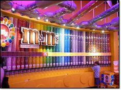 M&M's world in Las Vegas