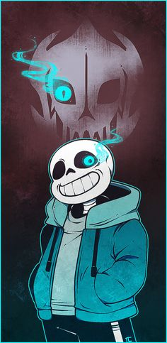 """traumlaterne: """"  Yup I'm really Undertale Trash now! I have a huge respect (Fear) for Sans! (I love him, but he still gives me the creeps!!!) """""""