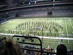 Star Trek marching band show! Pretty awesome, and well played. Not so sure about some of those straight lines though!