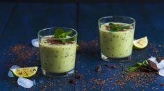 Mentás-csokoládés zöld smoothie - Receptek | Ízes Élet - Gasztronómia a…