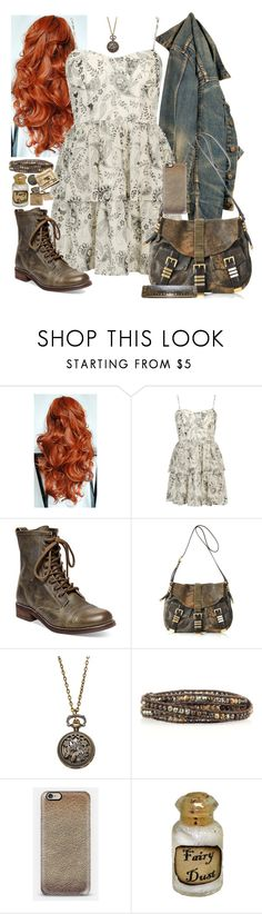 """Untitled #467"" by neverland-is-just-a-dream-away ❤ liked on Polyvore featuring Forever 21, Steve Madden, Michael Kors, Chan Luu and Dollhouse"