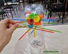 juego didáctico con reciclables