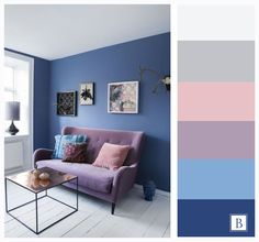 Combination Of Wall N Furniture Colors En 2019 Colores House Color Schemes, Living Room Color Schemes, Paint Colors For Living Room, Bedroom Colors, House Colors, Home Living Room, Living Room Decor, Bedroom Decor, Colorful Furniture