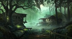 abandoned swamp shack - Google Search