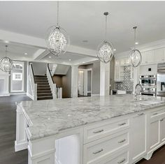 24 Beautiful White Kitchen Design Ideas And Decor. If you are looking for White Kitchen Design Ideas And Decor, You come to the right place. Below are the White Kitchen Design Ideas And Decor. Home Decor Kitchen, Kitchen Interior, Home Kitchens, Dream Kitchens, Luxury Kitchens, White Kitchen Decor, Gray Home Decor, Remodeled Kitchens, Retro Kitchens