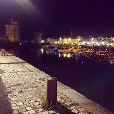 Promenade nocturne à  La Rochelle !