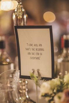 1920s Art Deco Font Table Name Quotes - Image by  Sarah-Jane Ethan Photography - Esme by Jenny Packham gown for a wedding at Ellingham Hall with a Great Gatsby theme. Wedding colour theme of black, grey and white with silver and gold.