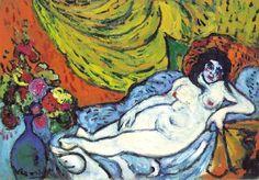 Desnudo reclinado (1905), Maurice de Vlaminck
