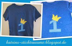T-Shirt 1 mit Krone