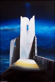 "Asylum - David Fedeli 36""x24"" Oil on Canvas"