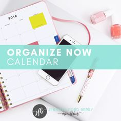 Organize Now To-Do List Calendar Month 1 - Jennifer Ford Berry