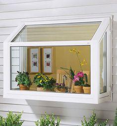 Garden window for above the kitchen sink!