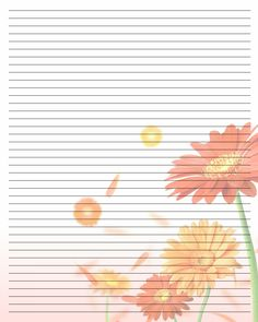 Printable Journal Page | Lined paper | Pinterest