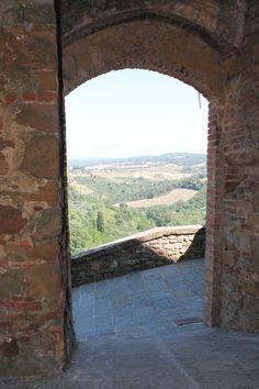 View from Trequanda Windows, Italia, Ramen, Window