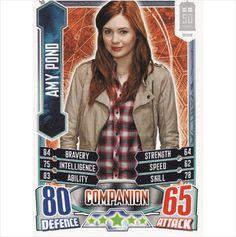 Doctor Who Alien Attax 50th Anniversary 55 Amy Pond Common on eBid United Kingdom