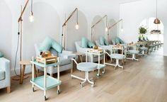 VoyeurDesign Techne se grada en la escuela de belleza Tiendas