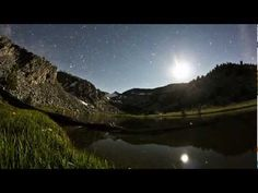 Amazing - John Muir Trail Time-Lapses of the Milky Way