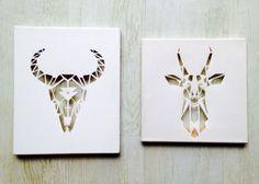 Canvas cutouts