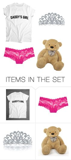 """Daddy's little girl "" by stephykins0018 ❤ liked on Polyvore featuring art and ddlg"