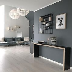 Living Room Colors, Living Room Paint, Living Room Grey, Living Room Modern, Home Living Room, Interior Design Living Room, Living Room Designs, Living Room Decor, Bedroom Decor