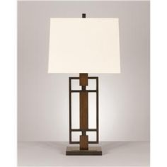 Accessories:  nice contemporary lamp.