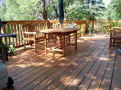 deck designs | Deck design ideas trex cedar hardwood Alaskan0115