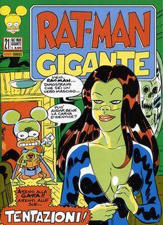 Rat-Man Gigante 21 (2015) Cover di Leo Ortolani #PaniniComics #RatMan #LeoOrtolani