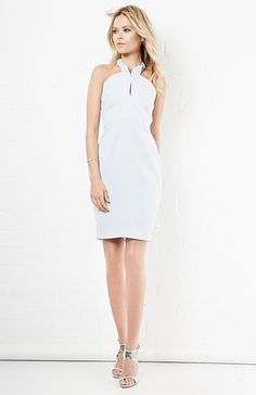 Keepsake New Bloom Dress in Pastel Blue XS - M | DAILYLOOK