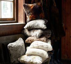 Faux Sheepskin Throw | Pottery Barn