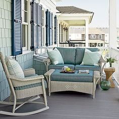 coastal house with porch | CHIC COASTAL LIVING: Coastal Living ~ Ultimate Beach House 2011