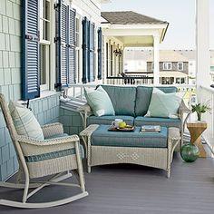 coastal house with porch | CHIC COASTAL LIVING: Coastal Living ~ Ultimate Beach House 2011