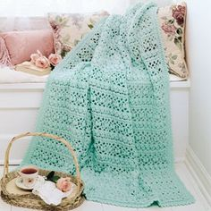 Craftdrawer Crafts: Free Spring Crochet Afghan Pattern