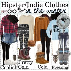 Indie Scene Outfits | fashion look from January 2013 featuring Woolrich tops, VILA ...