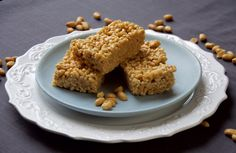 Peanut Butter Crispy Brown Rice Bars Trump Hate and Hunger Rice Bar, Brown Rice Cereal, Food Photo, Peanut Butter, Dishes, Baking, Desserts, Hate, Recipes