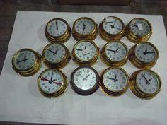 Brass maritime Clocks