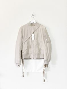 Helmut  Lang AW03 Bondage MA-1 & Sleeve NWT Bomber Size s - Bombers for Sale - Grailed