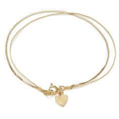 Beżowa nitka z pozłacanym łańcuszkiem i serduszkiem Gold Necklace, Pendant Necklace, Jewelry, Gold Pendant Necklace, Jewlery, Jewerly, Schmuck, Jewels, Jewelery