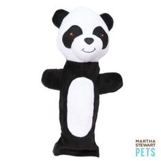Martha Stewart Safari Bottle Panda Dog Toy - PetSmart