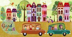 Good Luck! Artist Illustration by www.MilaMarquis.com and www.Facebook.com/MilaMarquisillustration